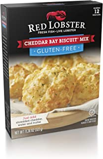 Red Lobster Gluten Free Cheddar Bay Biscuit Mix, 11.36oz, Pack of 2