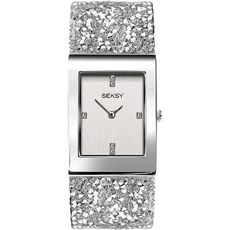 Seksy Rocks® 2652 Crystal Bracelet Womens Wrist Watch Jewellery