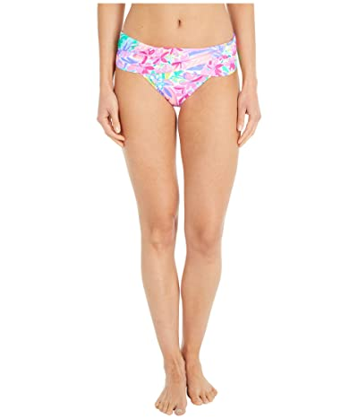Lilly Pulitzer Lagoon Sarong Hipster Bikini Bottom (Multi It Was All A Dream) Women