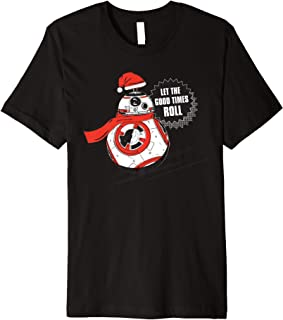 BB-8 Let the Good Times Roll Holiday Premium T-Shirt