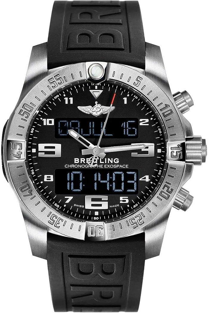 Breitling Exospace B55 Titanium Watch on Black Rubber Strap EB5510H1/BE79-155S