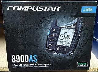 Compustar CS8900-AS 1 Mile Range All-in-One 2-Way Remote Start+Alarm