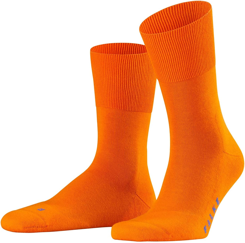 Falke Mens Run Socks - Bright Orange