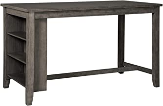 Signature Design by Ashley D388-13 Caitbrook Rectangular Dining Room Counter Table, Dark Gray