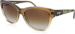 Just Cavalli Women's JC634S Acetate Sunglasses GREEN 56