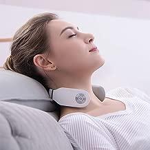 SKG Smart Neck Massager Wireless Neck Massage Equipment 8 Times Use (30 Minutes/Time)-White