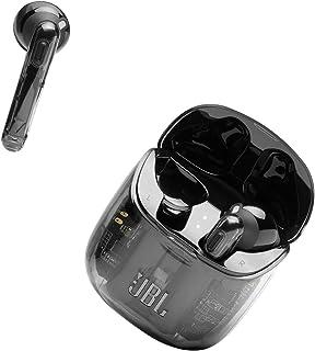 JBL Tune 225 TWS Lifestyle Bluetooth Kopfhörer in Ghost Black – Kabellose Sport Ohrhörer für bis zu 5 Stunden Musikgenuss mit nur einer Akku Ladung – Inkl. Ladecase