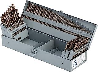 12 Pack Cobalt Jobber Drill Heavy Duty 500A114 7//32