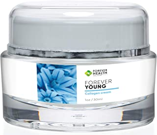 Forever Health- Forever Young Collagen Cream- Best Face Cream for Wrinkles and Anti Aging - Daily Moisturizer for Wrinkle ...