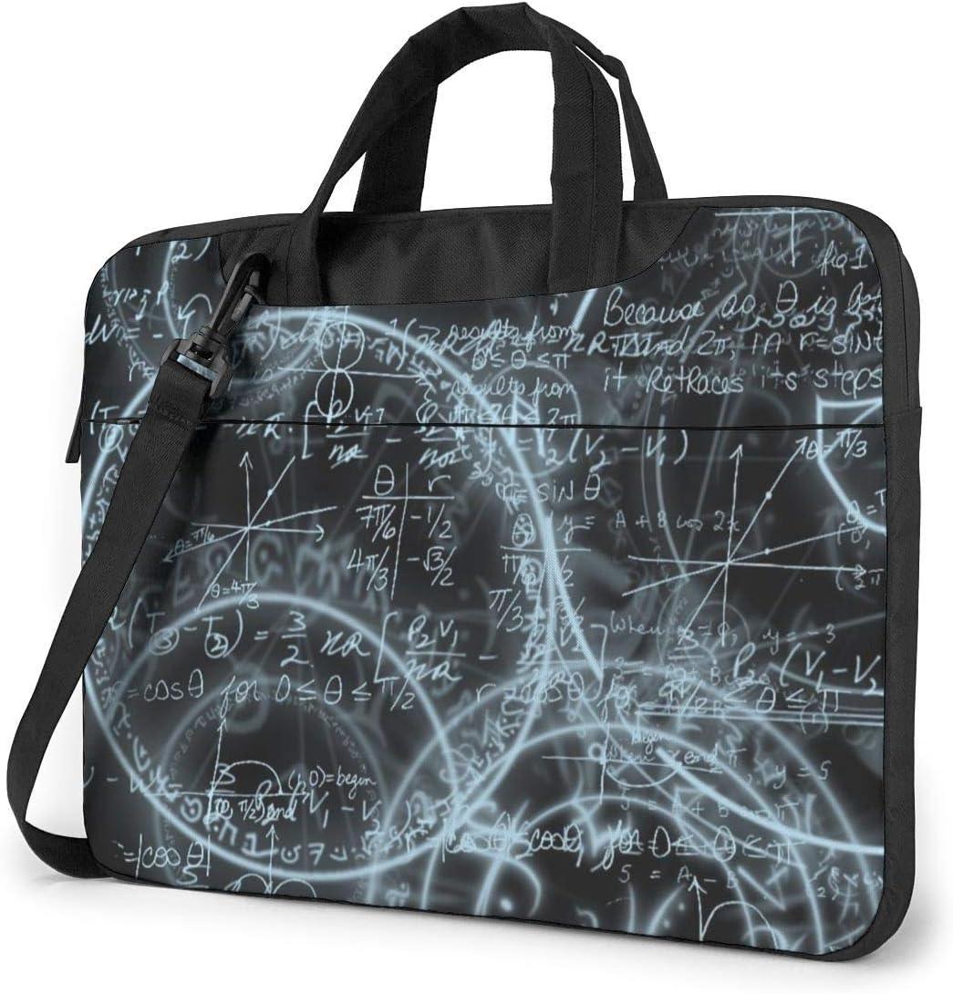 MATEH Magic/_Math Laptop Sleeve Case 13 Inch Computer Tote Bag Shoulder Messenger Briefcase for Business Travel
