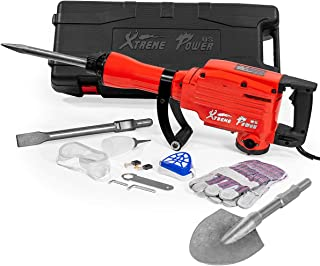 XtremepowerUS 2200Watt Heavy Duty Electric Demolition Jack Hammer Concrete Breaker Chisel..