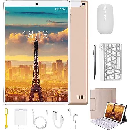 Tablet 10.1 Pulgadas 4G Android 9.0 Quad Core DUODUOGO Tablet Baratas 4GB RAM 64GB ROM/128GB Escalables 8000mAh Doble SIM/Cámara Tablet PC Netfilx ...