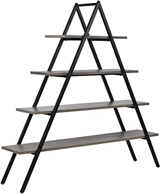 Sterling Home Spearhead Shelf bookcase, Black