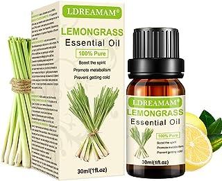 Lemongrass Aceite Esencial Aceite de Limoncillo Aceites Esenciales Aromaterapia Aceite De Masaje Aceite 100% Puro y Na...