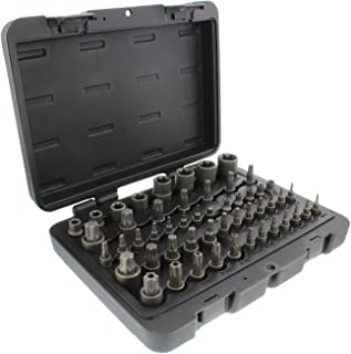 """6 Point Star McKay 10 Pc E-Torx Socket Set Multi-Functional External Female Drive Easily Chucks into Square Adapters or Ratchets 1//4/""""-3//8/"""""""