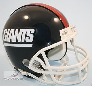 New York NY Giants 1981-1999 Throwback Riddell Mini Football Helmet - New in Riddell Box