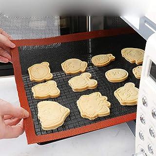 JIAYAN 1 pc Tapis de Cuisson en Silicone perforé Doublure de Feuille de Four de Cuisson antiadhésive pour Biscuits/Pain/Ma...
