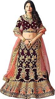 فستان ليهينغا شولي للسيدات من الحرير الأرجواني