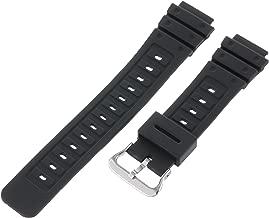 Timex Men's Q7B721 Resin Sport 18mm Black Replacement Watchband