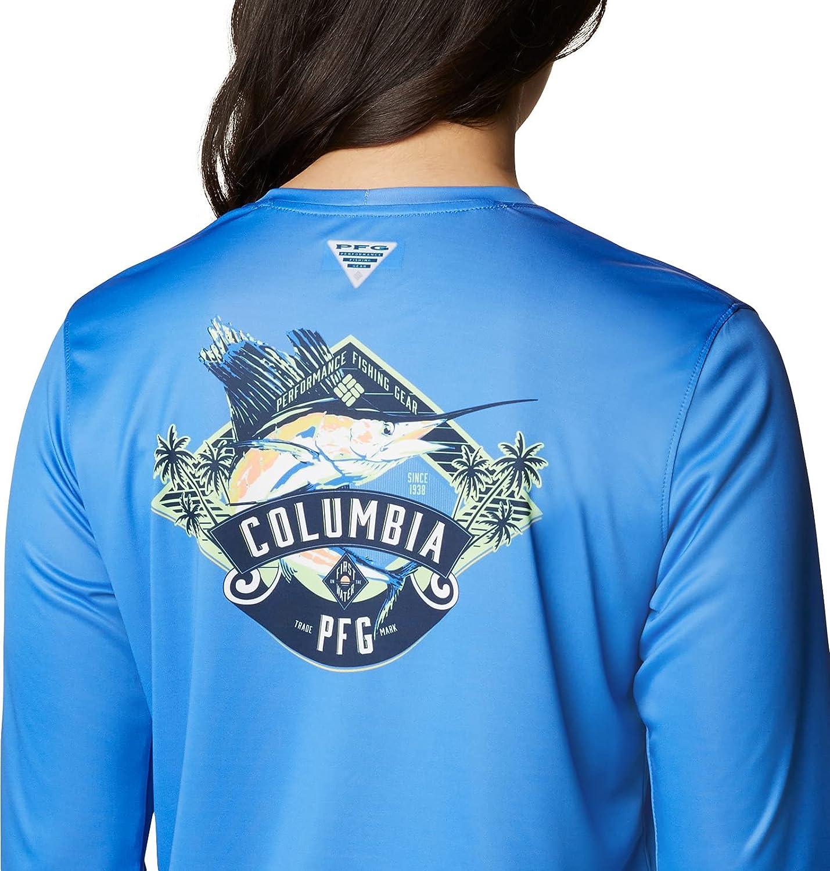 Columbia Women's Tidal Tee PFG Vintage Long Sleeve