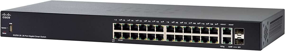 Cisco SG250-26 - 26-Port Gigabit Switch