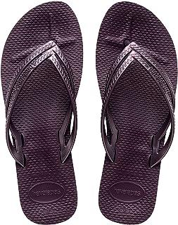 Havaianas Women's Slip-On Flip-Flop, Aubergine, 6