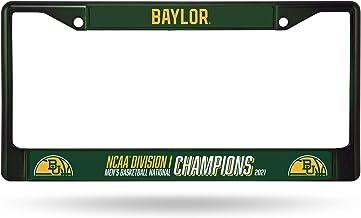 NCAA Baylor Bears 2021 Men's Basketball Champions Team Color Chrome License Plate Frame