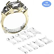 Ringo Invisible Ring Size... Ringo Invisible Ring Size Adjuster for Loose Rings Ring Adjuster Fit Any Rings, Ring Sizers, 10...