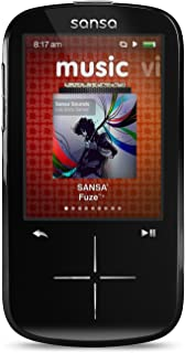 SanDisk Sansa Fuze+ 4GB MP3 with FM Radio - Black