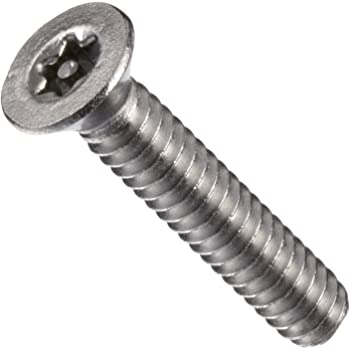 Pack of 100 Button Head Pin In Star Drive Stainless Steel Machine Screw #8-32 Threads Plain Finish 1//2 Length