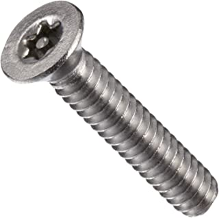 #2-56 Threads Plain Finish Stainless Steel Machine Screw Pack of 100 7//16 Length Binding Head Slotted Drive