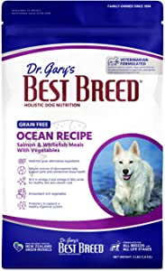 Best Breed Grain Free Salmon w/ Fruits & Vegetables Made in USA [Natural Dry Dog Food For All Breeds and Sizes]