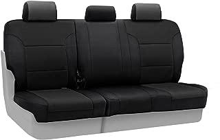 Coverking Custom Fit Rear 60/40 Bench Seat Cover for Select Toyota FJ Cruiser Models - Spacermesh Solid (Black)