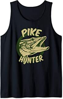 Pike Hunter Design | Northern Pike Fish Lovers art Gift Tank Top