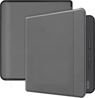 Smart Case for Kobo Forma 8 inches, Ratesell Lightweight Smart Flip Stand Microfiber Lining Back TPU Case Cover with Auto Sleep/Wake Feature Gray