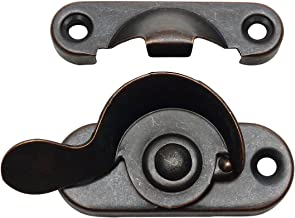 10 Pack - Designers Impressions 53706 Oil Rubbed Bronze Window Sash Lock