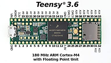 Teensy 3.6 with pins