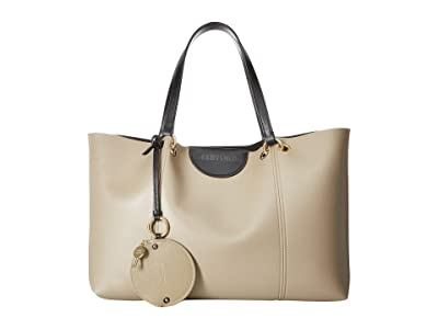 See by Chloe Marty Tote (Motty Grey) Handbags