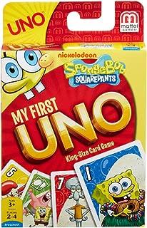 Mattel Games Spongebob Squarepants My First UNO Card Game