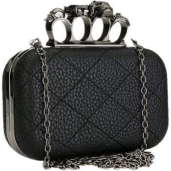 Designer Evening Bag Wallet High-end Sequin Clutch Crossbody Bag Black Shoulder Bag Clutch Purse Handbag for Women Ladies Girls Party Wedding Prom