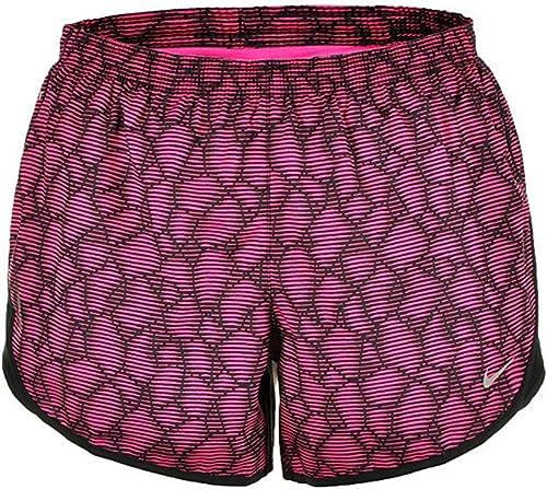 Nike Femmes en tant que tempo imprim¨  moderne, rose vif (X-petit)