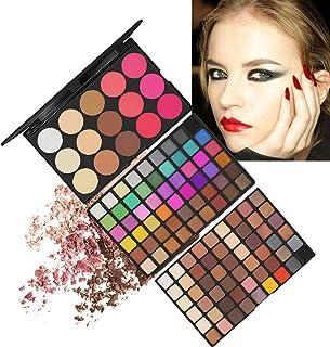 RoseFlower Portable multifunctional Beauty Makeup Kits Cosmetic Case Set Multicolored eyeshadow Palette Foundation Face Po...