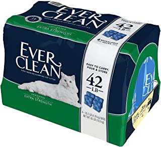 Ever Clean Extra Strength Cat Litter, Unscented, 42 Pound Bag (Packaging May Vary)