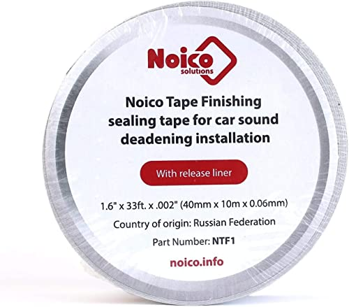 discount Noico outlet sale Tape Finishing Sealing Tape for car Sound online deadening Installation outlet sale