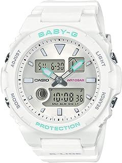 [カシオ] 腕時計 ベビージー G-LIDE BAX-100-7AJF レディース ホワイト