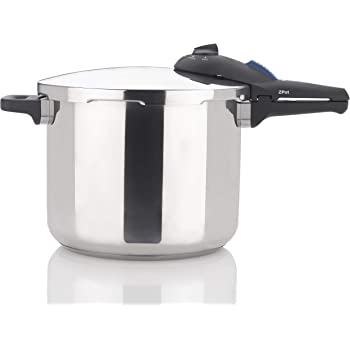 Zavor ZPot 10 Quart 15-PSI Pressure Cooker and Canner - Polished Stainless Steel (ZCWSP03)