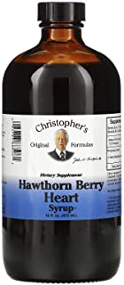 Christopher's Original Formulas Nourish Hawthorn Berry Heart Syrup 16 Oz