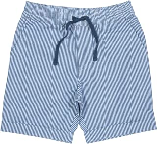 Kite Blue Striped Ticking Shorts