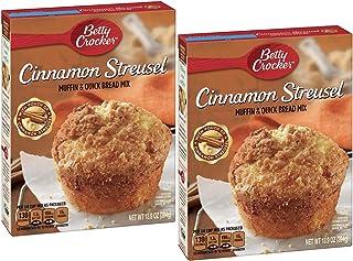 Betty Crocker Muffin Mix, Cinnamon Streusel, 13.9 oz (2 Pack)