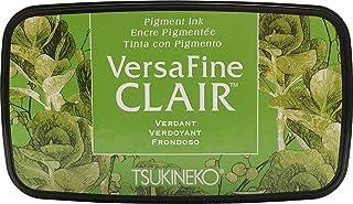 Tsukineko VF-CLA-502 Coloris Verdant Versafine Clair d'encrage, matière synthétique, Vert, 5.6 x 9.7 x 2.3 cm, Matériau, G...